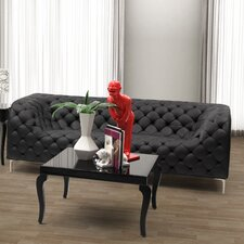 Leatherette Sofa