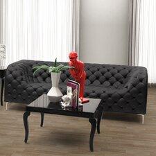 Leatherette Sofa