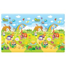 Pororo Fruit Land with ABC Soft PVC Play Mat