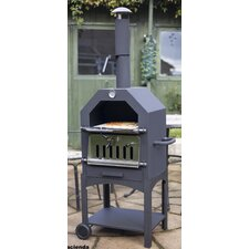 Steel Pizza Oven/Smoker