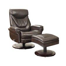 Cinna Pedestal Chair and Ottoman