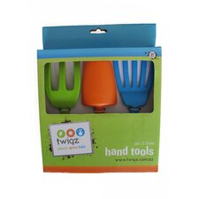 3 Piece Kids Hand Gardening Tools Set (Set of 2)