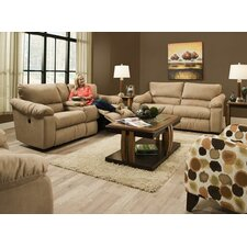 Gravity Reclining Console Loveseat