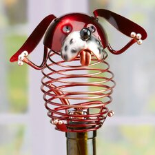 Figurine Dog Wine Bottle Stopper