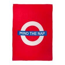 Mind the Nap Throw Blanket