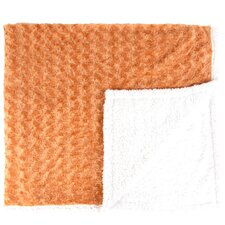Twisted Fur and Sherpa Throw Blanket