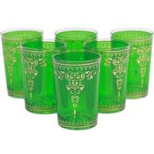 Yasmina Moroccan Tea Glass (Set of 6)