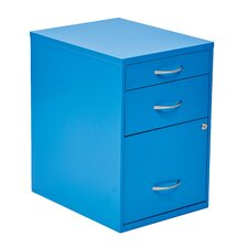 3 Drawer Metal File Cabinet