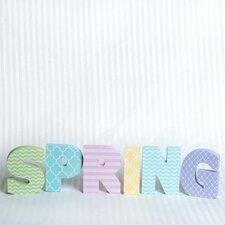 Spring Cutout Word Wall Décor