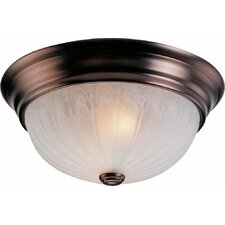 Marti 3 Light Ceiling Fixture Flush Mount