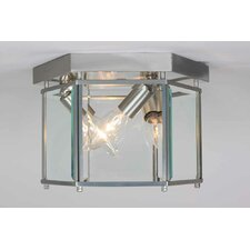 3 Light Ceiling Fixture Flush Mount