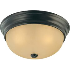 Trinidad 3 Light Ceiling Fixture Flush Mount