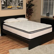 "Ultimate Dreams 12"" Pocketed Coil Plush Mattress with Latex Foam"