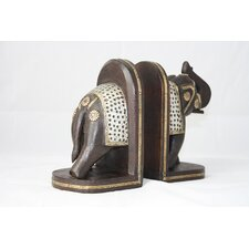 Elephant Bookend (Set of 2)