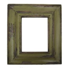 Carved Reclaimed Wood Picture Frame