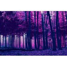 """Incandescent Forest"" Canvas Art"