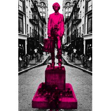 Warhol Monument NYC Graphic Art on Canvas