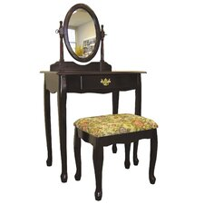 Victoria Vanity Set with Mirror