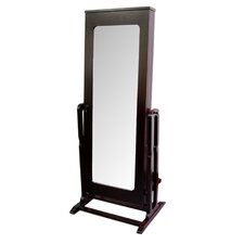 Standing Mirror with Storage