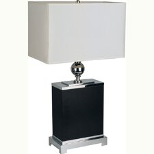 "25"" H Table Lamp with Rectangular Shade"