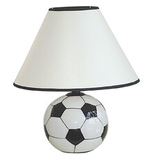 """Ceramic 5.75"""" H Table Lamp with Empire Shade"""