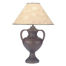 """Polyresin 33"""" H Table Lamp with Empire Shade"""