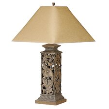 """Scroll 31"""" H Table Lamp with Empire Shade"""