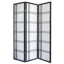 "Girard 70"" x 51"" 3 Panel Room Divider"