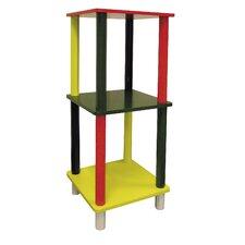 """Kid's 3 Tier Square 28.5"""" Bookcase"""