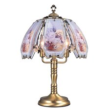 "Touch 23.5"" H Table Lamp with Novelty Shade"