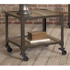 Industrial Age End Table