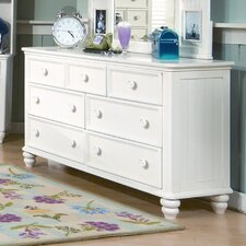 Summer Breeze 7 Drawer Dresser