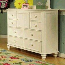 Summer Breeze 8 Drawer Dresser