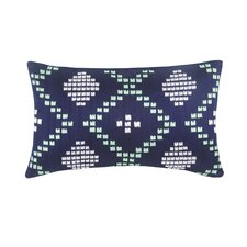 Aspen Dillon Decorative Silk Dupioni Lumbar Pillow