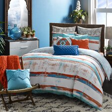 Mexico City Siesta 3 Piece Duvet Set