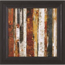 Red Amber II by Carmen Dolce Framed Painting Print