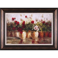 All in a Row by Ian Cook Framed Painting Print