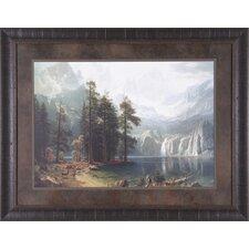 Sierra Nevada by Albert Bierstadt Framed Painting Print
