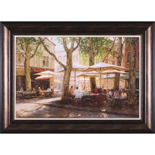Summer - Provence by George Bates Framed Painting Print