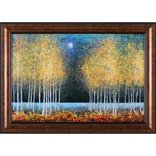 Blue Moon by Melissa Graves-Brown Framed Painting Print