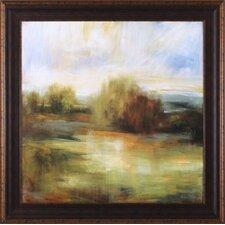 Johns Field by Simon Addyman Framed Painting Print