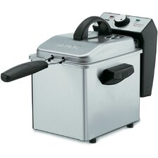 2 Liter Pro Mini Deep Fryer