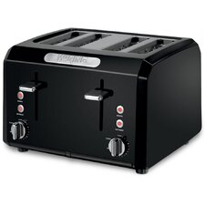 4-Slice Toaster with Dual Control Panels