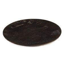 Wood Grain Centerpiece Tray
