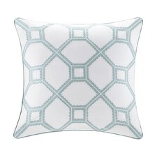 Flourish Cotton Throw Pillow