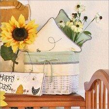 Bee My Baby Wicker Basket