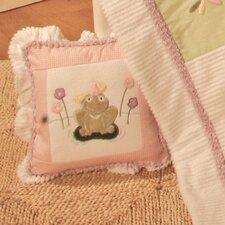 Babette Frog Decorator Throw Pillow