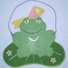 Babette Frog Hanging Art