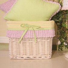 Froggy Lavender Wicker Basket
