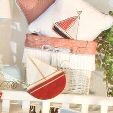 Sail Away Wicker Basket